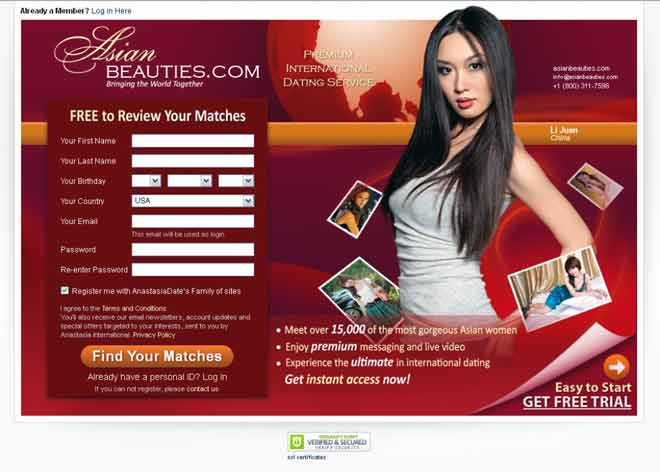 Find Asian women for marriage at Asian Beauties ?