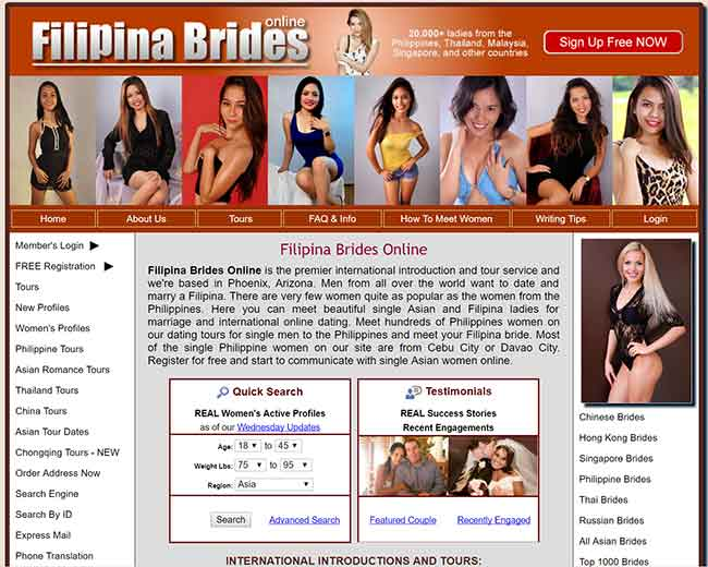 Filipina brides - Find Philippine women for marriage